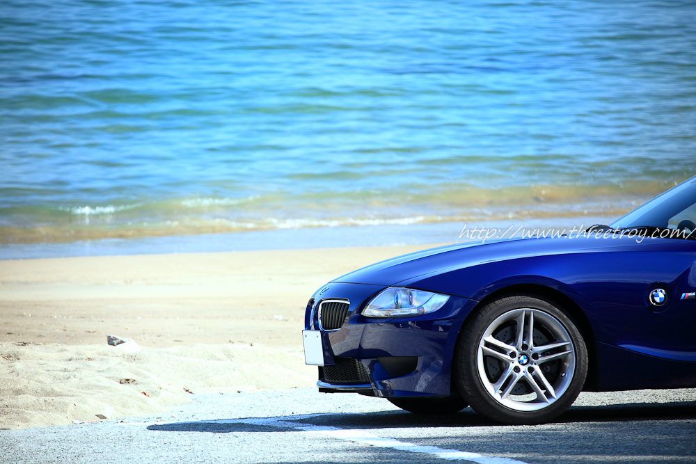 青い車で海に行こう